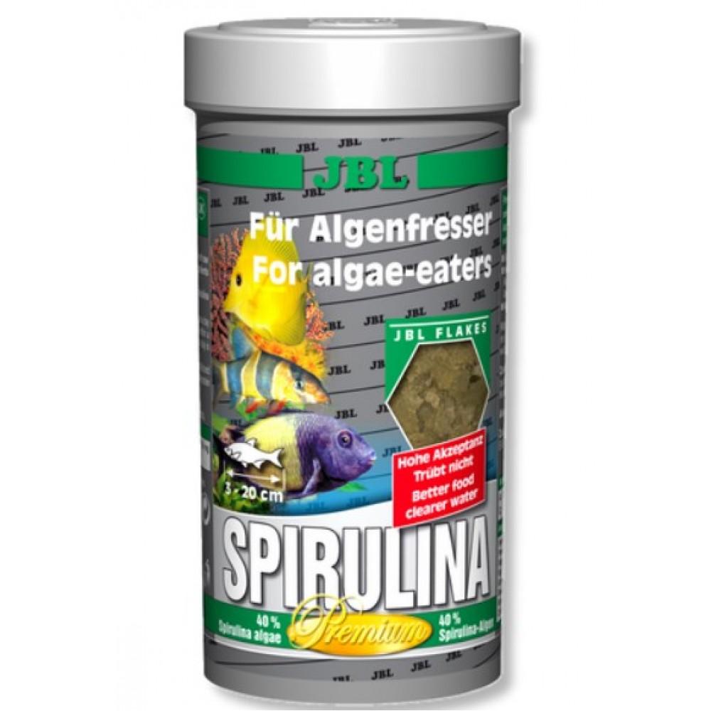 Корм для акваріумних риб JBL Spirulina преміум 100мл (30004)