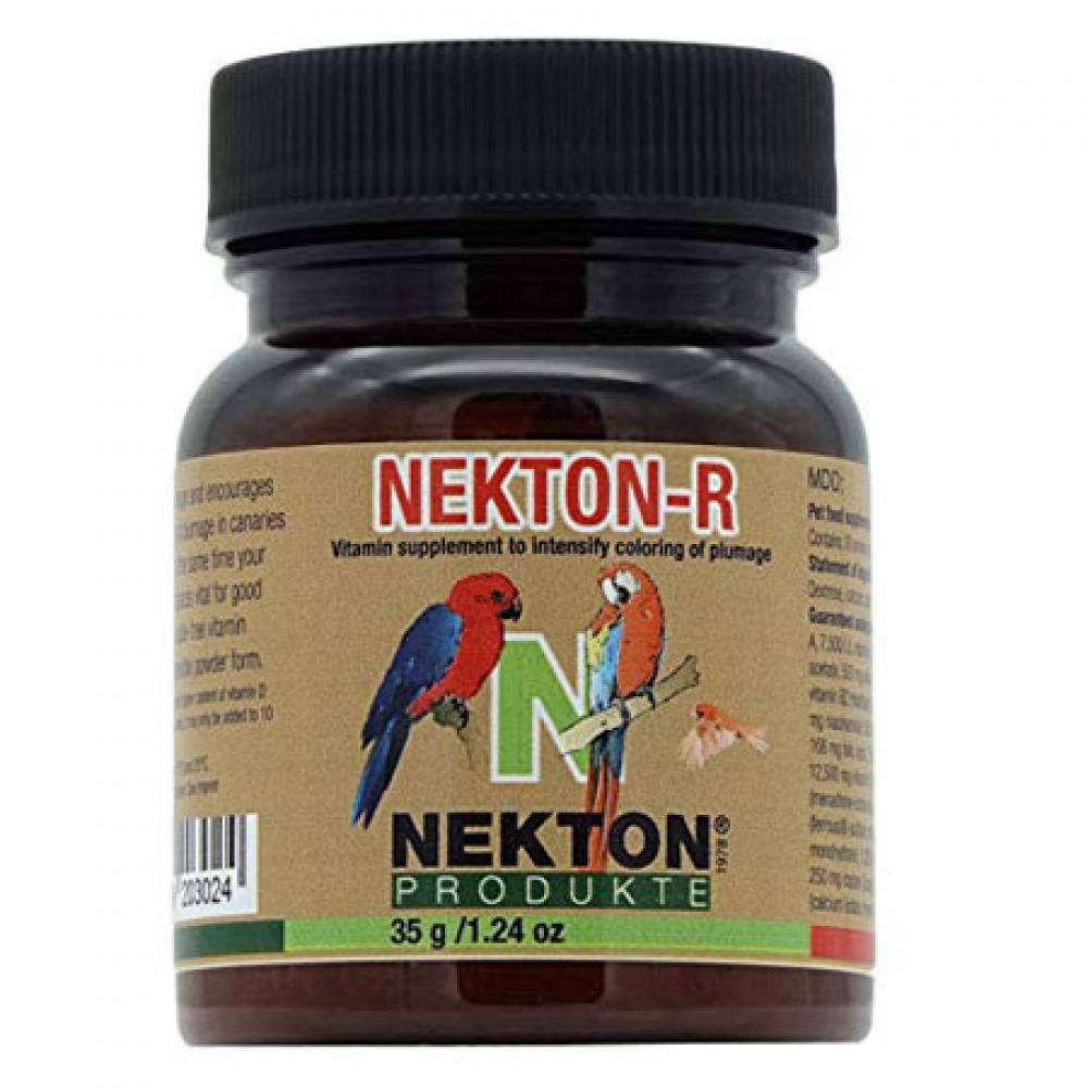 Добавка витаминно-минеральная для придания яркого окраса красным перьям Nekton R 35гр (203035)