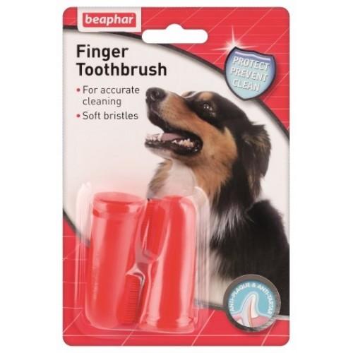 Зубная щетка FINGER TOOTHPASTE  Beaphar  11327