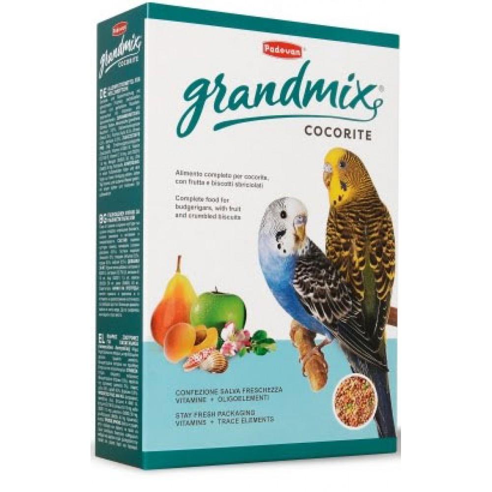 Корм для маленьких попугаев Padovan GrandMix Cocorite 0,4 кг (PP00276)
