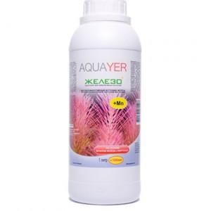 Добриво для акваріумних рослин AQUAYER Удо Єрмолаєва ЖЕЛЕЗО + 1Л