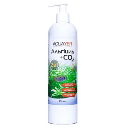 Кондиціонер для боротьби з водоростями AQUAYER Альгіцид + СО2 500мл