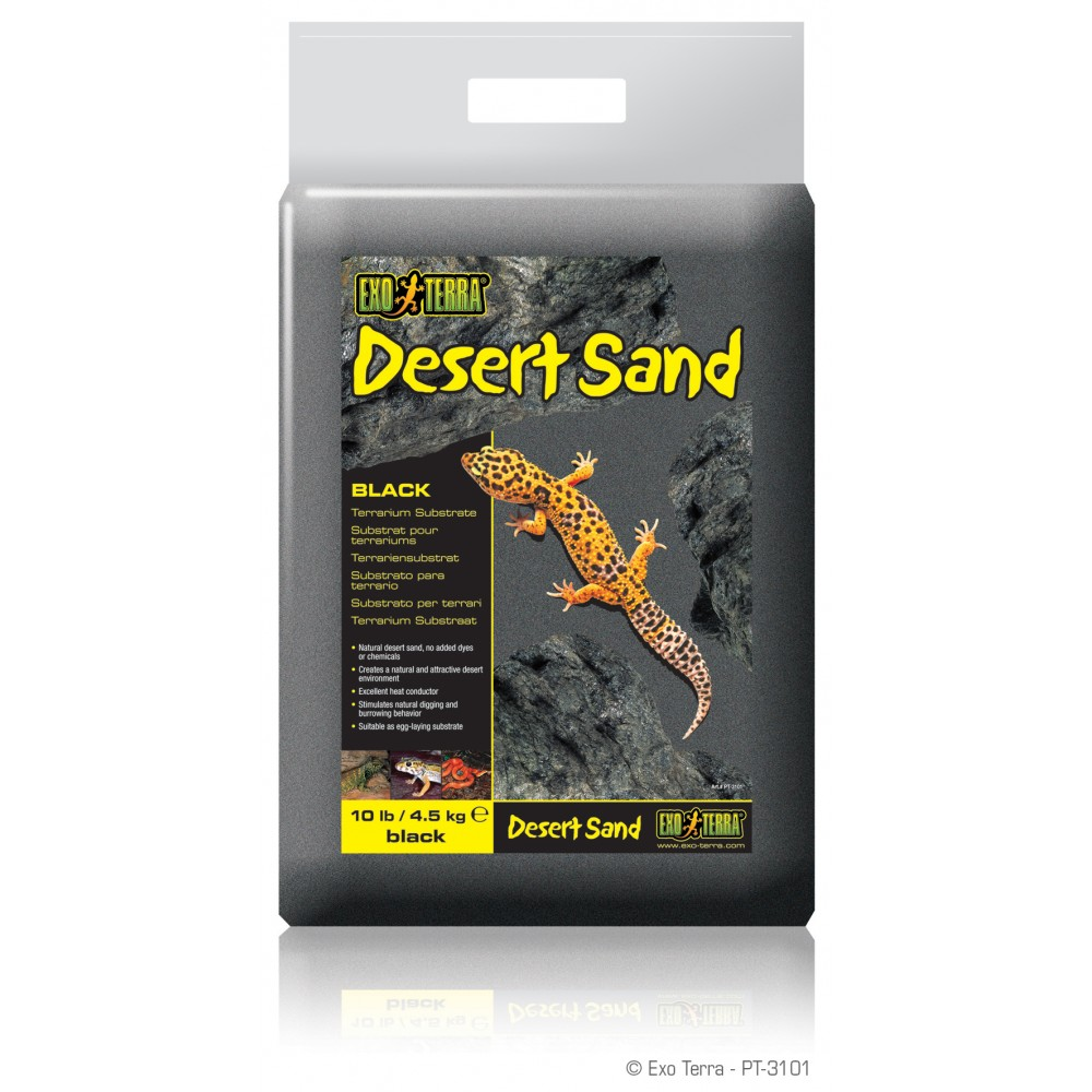 Пісок черний для рептилій ExoTerra 4,5кг (PT3101)