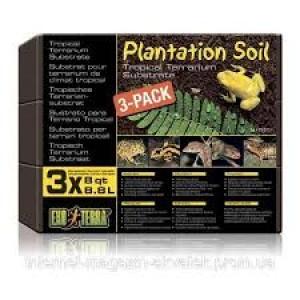 "Наполнитель субстрат ""Plantation Soil"" д/террар. 3х8,8л PT2771"