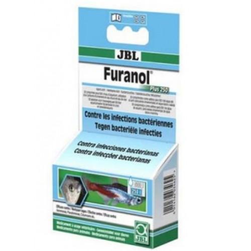 Антибактеріальний препарат JBL Furanol Plus 250 1 таблетка / 500л (10070)
