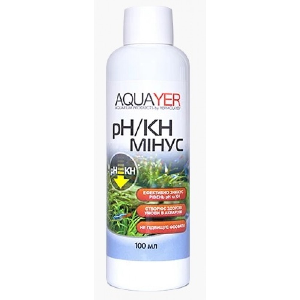 AQUAYER pH / KH мінус 100мл