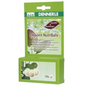 Добриво для акваріумних рослин Dennerle Deponit NutriBalls кореневе 10 шт (4558)