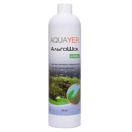 Кондиционер для борьбы с водорослями AQUAYER АльгоШок 500мл