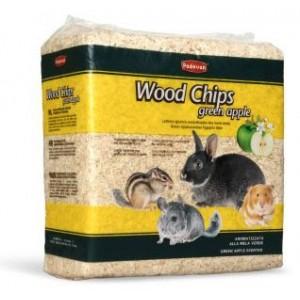 Наполнитель для грызунов Padovan Wood chips apple Древесный впитывающий 1 кг (PP00016)