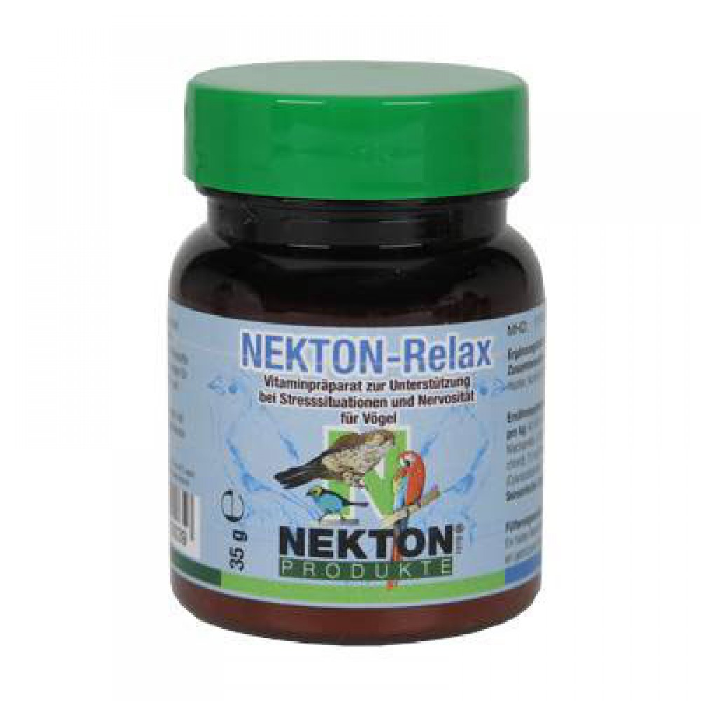 Витаминная добавка для птиц при стрессовых ситуациях и нервозности Nekton Relax Bird 35гр (210035)