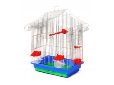 Клітка для птахів Міні-1 Лорі цинк 330х230х450 мм (Кц046)