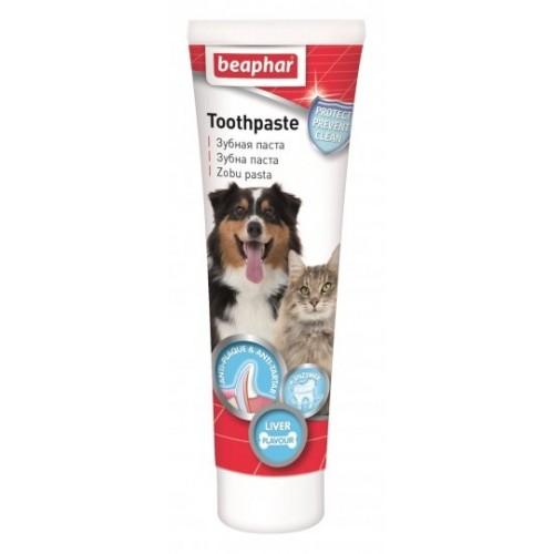 Зубная паста TOOTHPASTE LIVER Beaphar 100г  13223