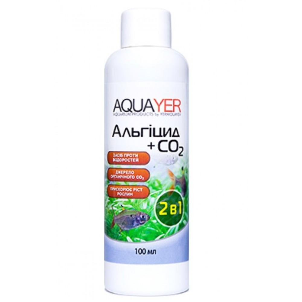 Кондиционер для борьбы с водорослями AQUAYER Альгицид+СО2 100мл