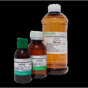 Молочна кислота 40% 500 мл