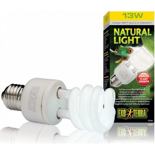 Лампа для тераріуму Exo Terra REPTI GLO 2.0 Natural Light 13W Е27 (PT2190)