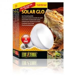Лампа для террариума Exo Terra Solar Glo солнечный свет 125W E27 (PT2192)