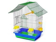 Клітка для птахів Шанхай Лорі цинк 330х230х400 мм (Кц050)