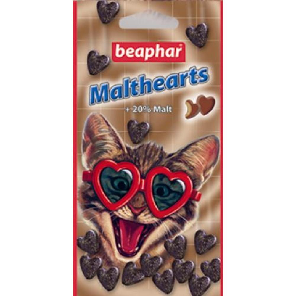 Malthearts сердечки с мальт-пастой для выведения шерсти 12930