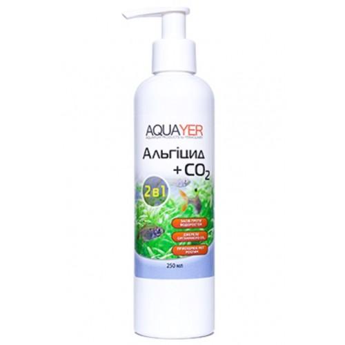 Кондиционер для борьбы с водорослями AQUAYER Альгицид+СО2 250мл
