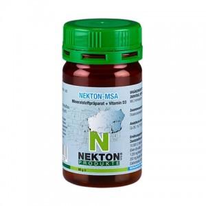 Добавка мінеральна з вітаміном D3 для домашніх птахів, рептилій і земноводних Nekton MSA 80гр (225075)