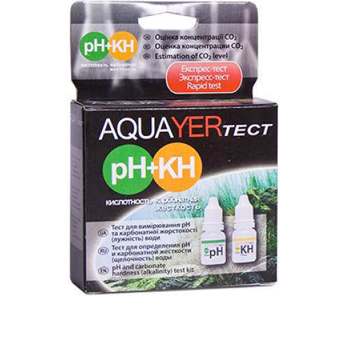 AQUAYER тест pH + КН