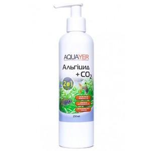 Кондиціонер для боротьби з водоростями AQUAYER Альгіцид + СО2 250мл