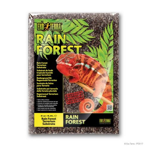 "Наполнитель ""Rain Forest Substrate"" д/террар. 8,8л PT3117"