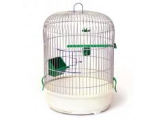 Клітка для птахів Рондо Лорі фарба 325х440 мм кругла (К044)