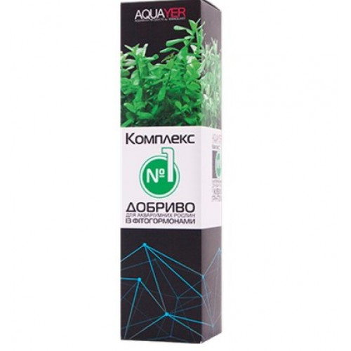 Добриво для акваріумних рослин AQUAYER Удо Єрмолаєва Комплекс №1 250мл
