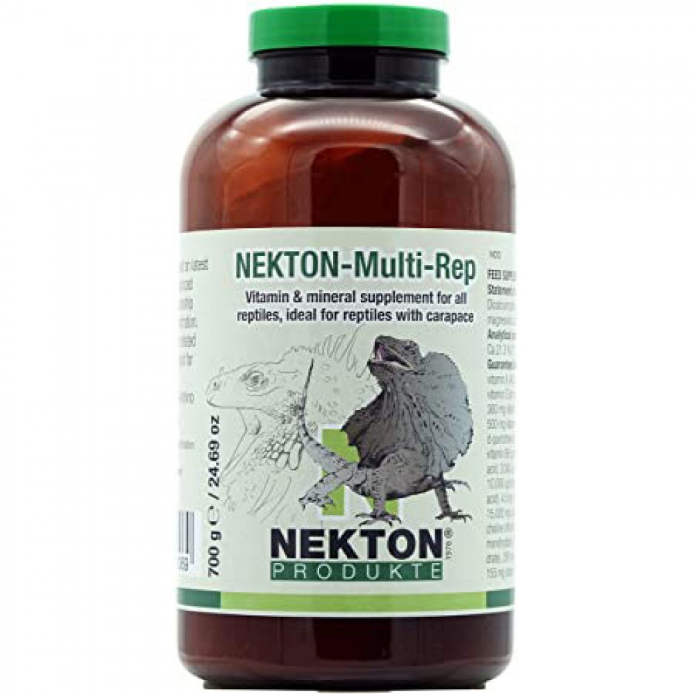 Вітамінно-мінеральний коплекс для всіх видів рептилій Nekton Multi Rep 700гр (220750)