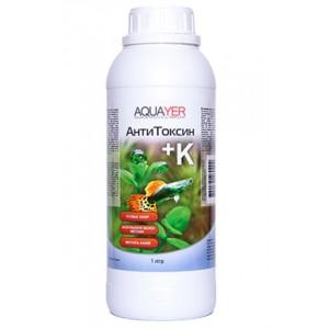 Кондиціонер для підготовки води AQUAYER Антитоксин +К 1000мл