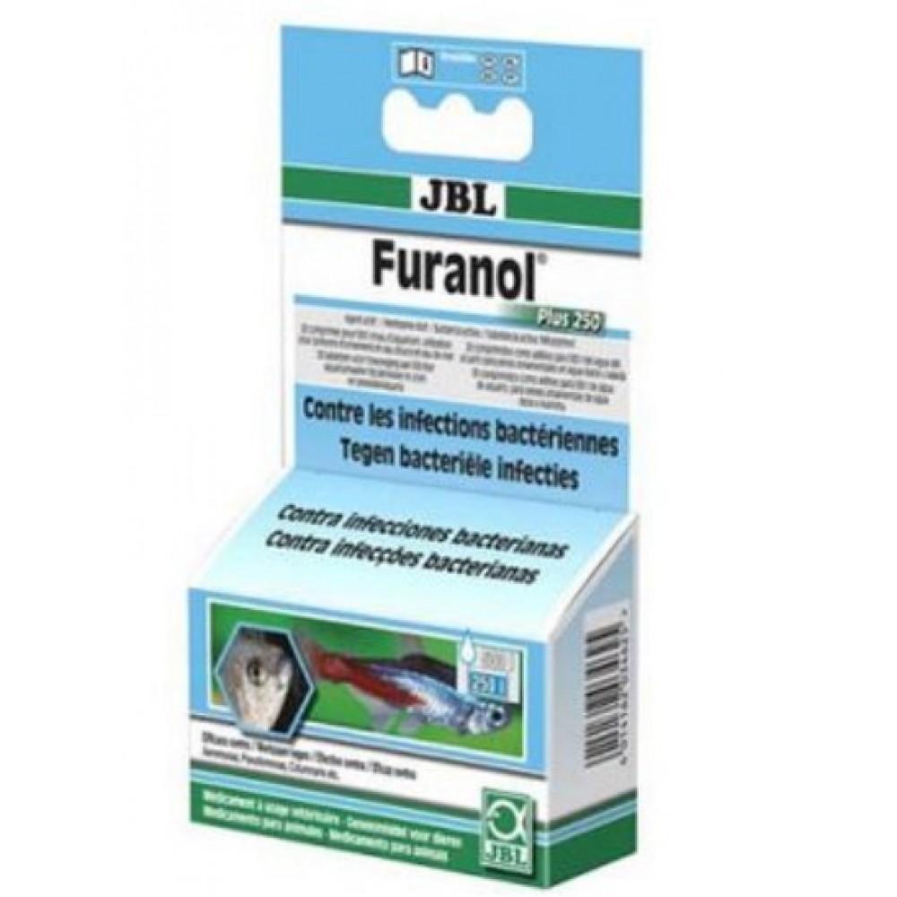 Антибактериальный препарат JBL Furanol Plus 250 1 таблетка/500л (10070)
