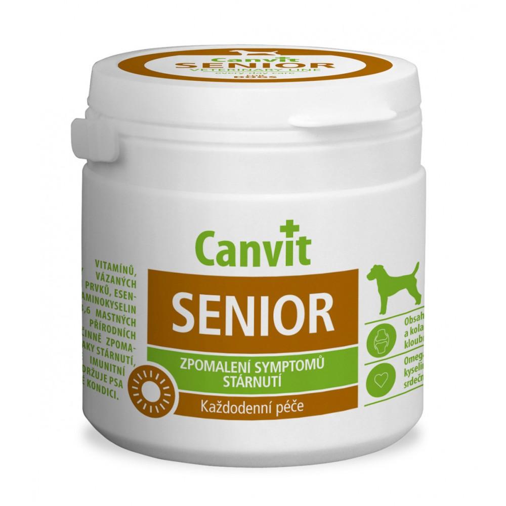 Canvit SENIOR Кормова добавка з вітамінами і мінералами для собак старше 7 років
