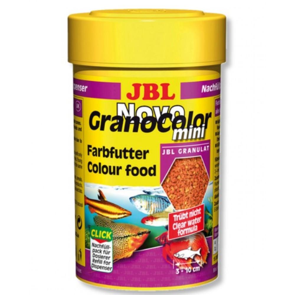 Корм для аквариумных рыб JBL NovoGrano Color Mini 100мл (30097)
