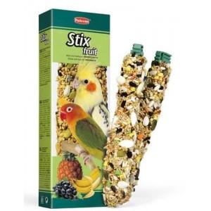 Зерновая палочка для декоративных птиц Padovan Stix Fruit Parrocchetti 100 г (PP00347)