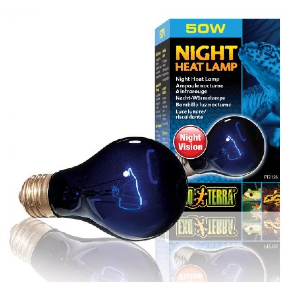 Лампа для тераріуму Exo Terra нічна А19 50W (PT2126)