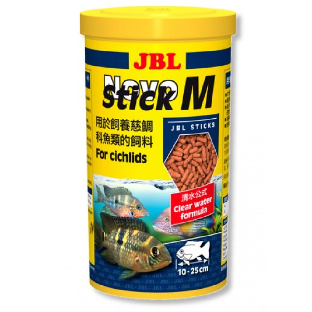 Корм для аквариумных рыб JBL NovoStick М 1л (30290)