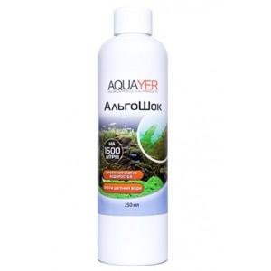 Кондиционер для борьбы с водорослями AQUAYER АльгоШок 250мл