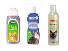 Шампуні для котів
