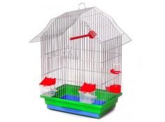 Клітка для птахів Міні-2 Лорі цинк 330х230х470 мм (Кц047)