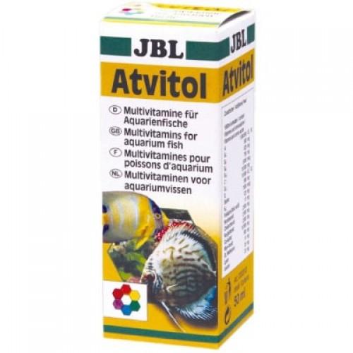 Мультивітамінний комплекс для акваріумних рибок Atvitol JBL 50 мл (47300)