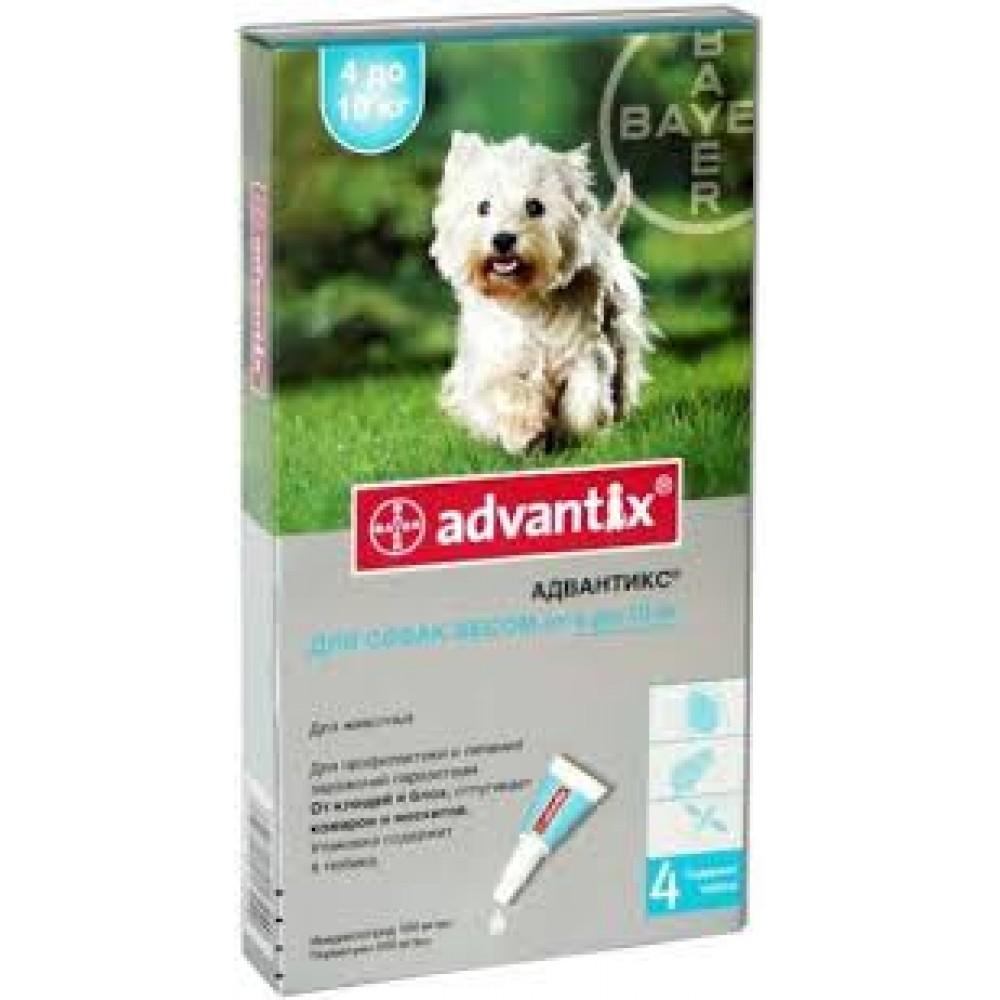 Адвантікс для собак 4-10 кг