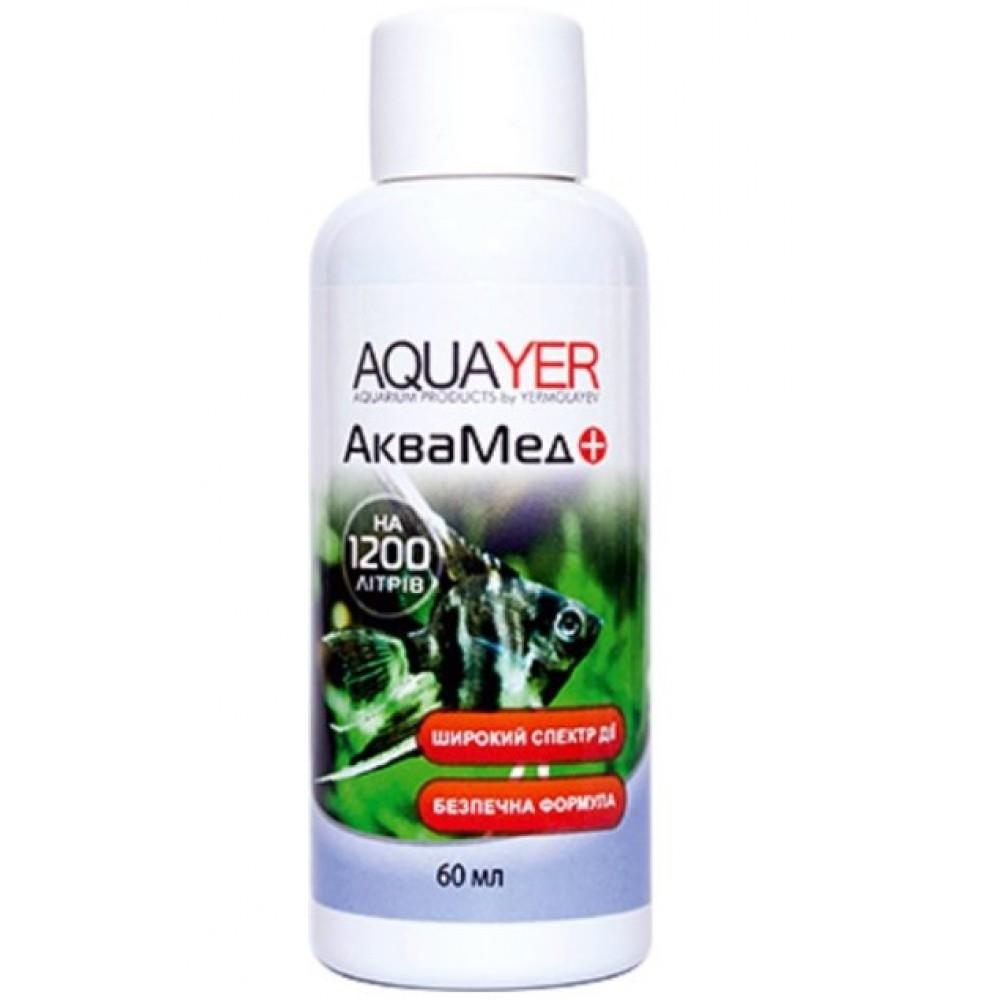 Антибактеріальний препарат AQUAYER Аквамедіа 60мл