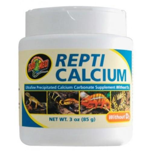 Repti Calcium без вітаміну D3 Zoo Med 85гр (ZM-A33-3E)