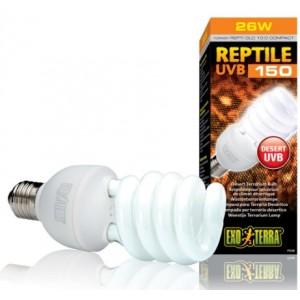 Лампа для тераріуму Exo Terra Reptile UVB150 26W (PT2189)