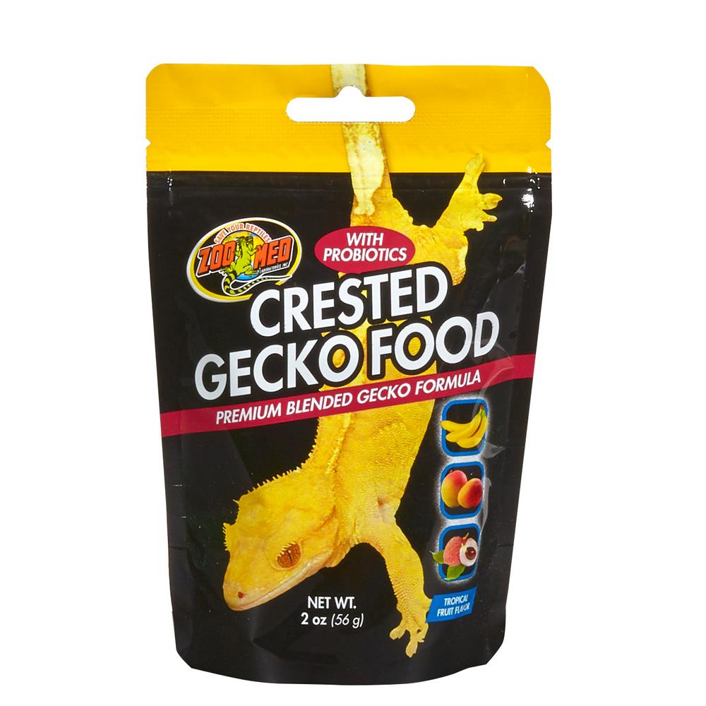 ZooMed Crested Gecko с тропическими фруктами 56 гр