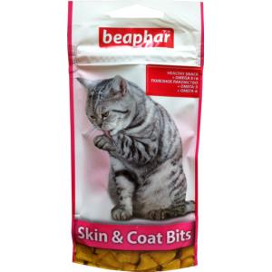Skin & Coat Bits подушечки для здорової шкіри і красивою і блискучою вовни котів 35 гр 11438