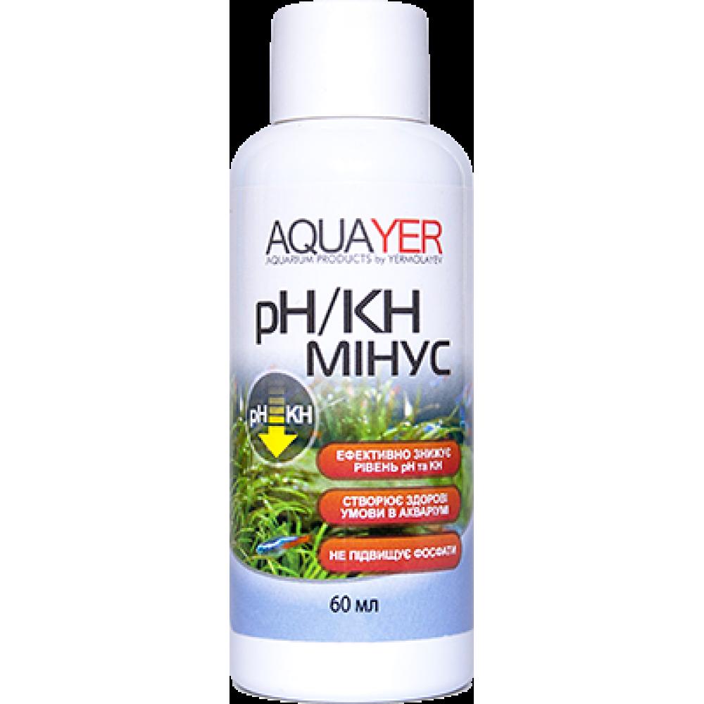 AQUAYER pH / KH мінус 60мл