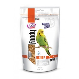 Полнорационный корм для папуг Lolopets Doypack Foody 600 г (LO-70214)