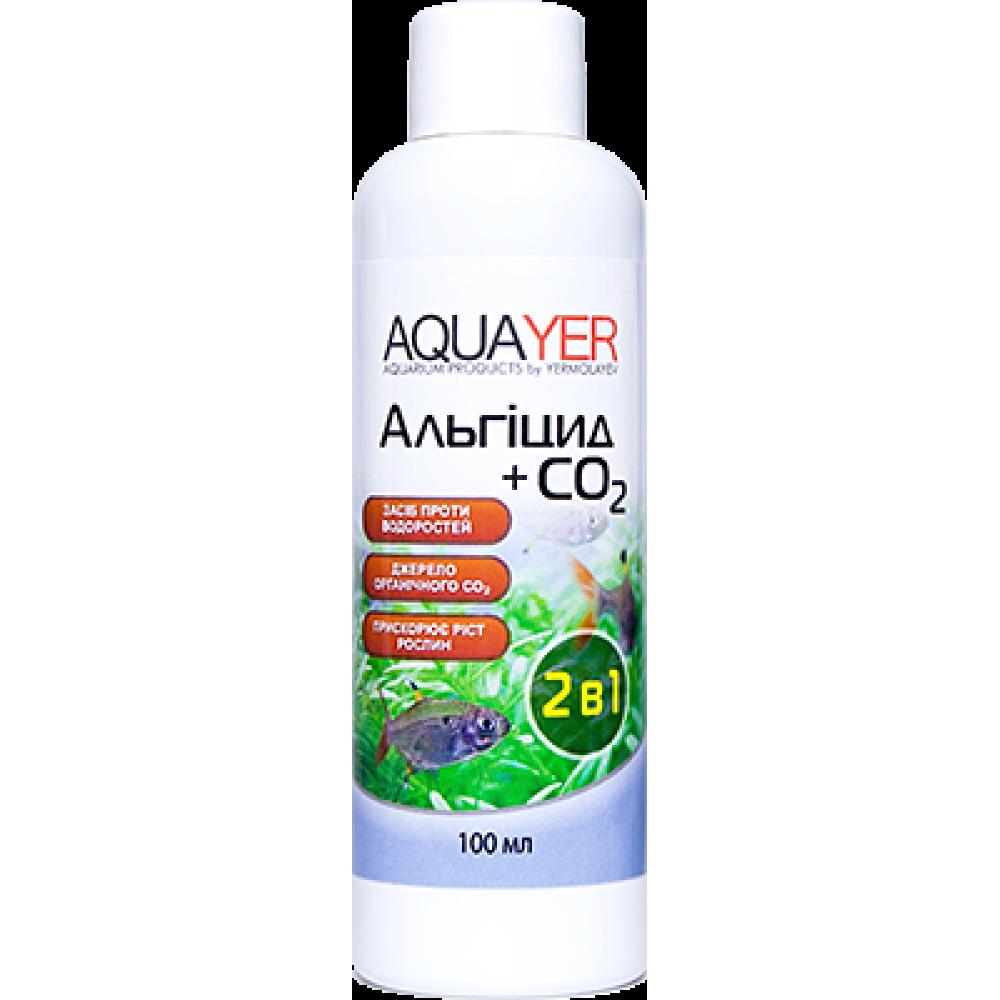 AQUAYER Альгіцид + СО2 100мл